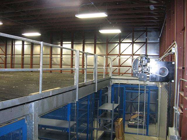 Mezzanine Storage 2