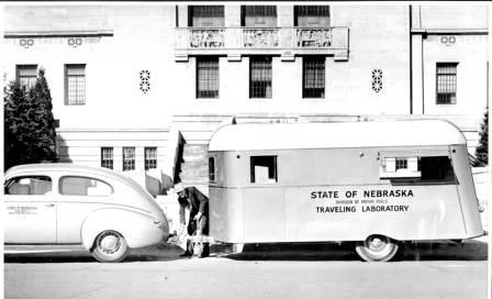 Nebraska traveling laboratory vehicle