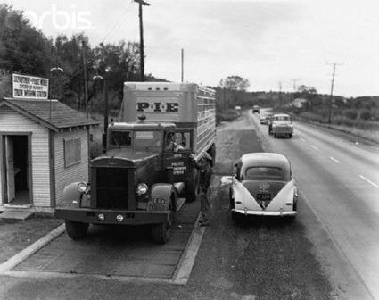 Historic truck scale