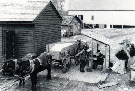 Historic wagon scale
