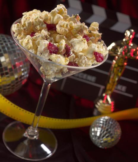 Glitterazzi Popcorn Martinis Recipe