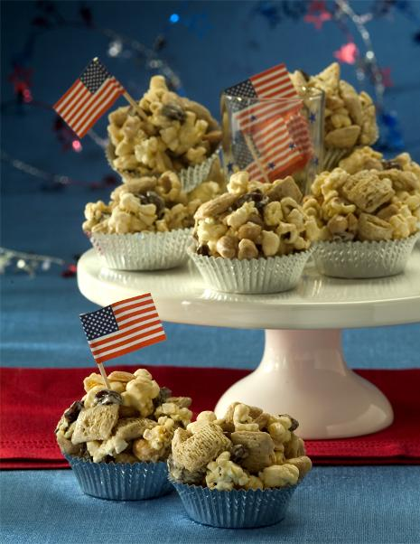 Healthy Popcorn Peanut Butter Cups Recipe