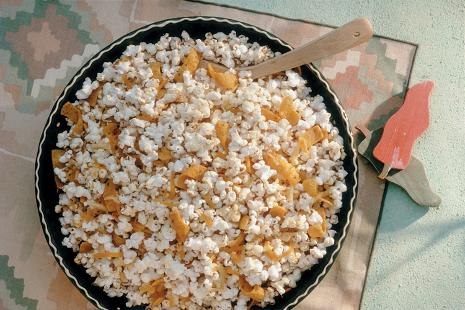 Spicy Nacho Cheese Popcorn Recipe