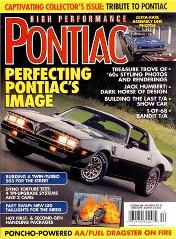 HPP Magazine Pontiac LED Tail Lights Bandit Trans Am 77 78