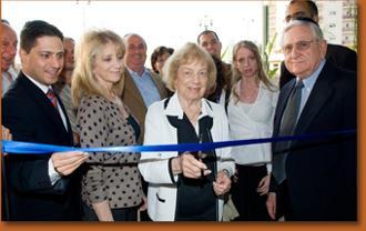 Mayor Ruvik Danilovich, Sharyn Johnson, Lillian Goodman, Michele Lopatin, Larry Goodman