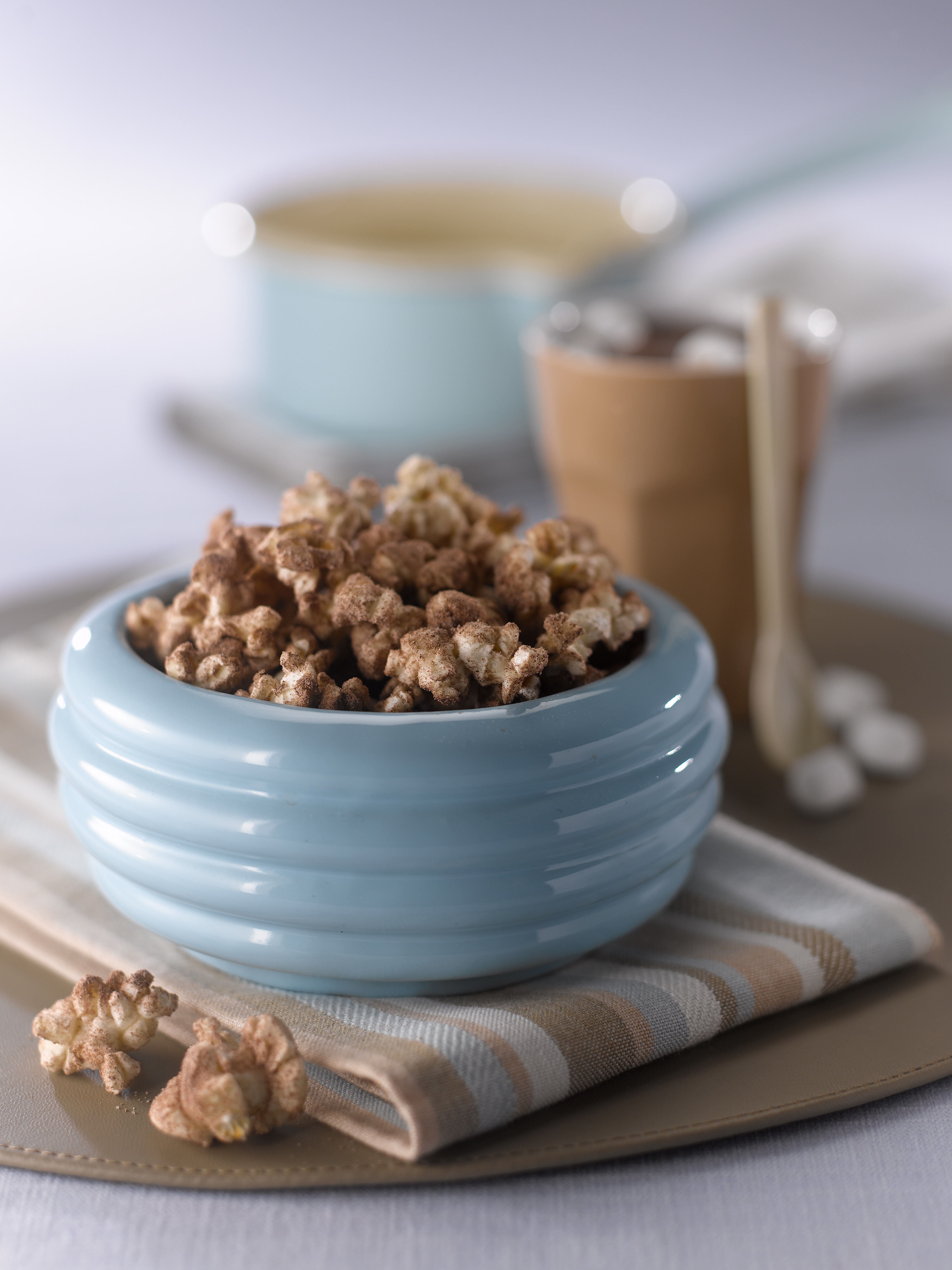 Cinnamon Chocolate Popcorn