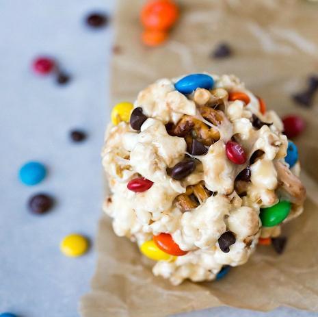 Sweet & Salty Popcorn Balls