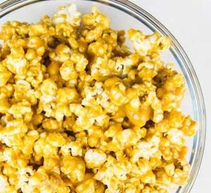 Peanut Butter and Maple Gourmet Popcorn