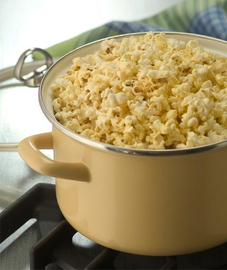 perfect homemade stovetop popcorn recipe